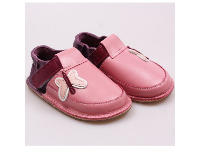 barefoot kids shoes butterflies 181 4