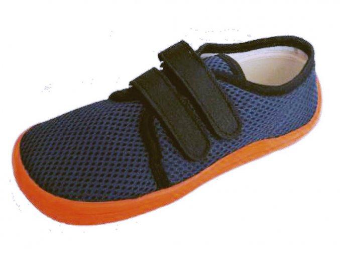 Beda Barefoot síťované Blue mandarine BF 0001/ST/W