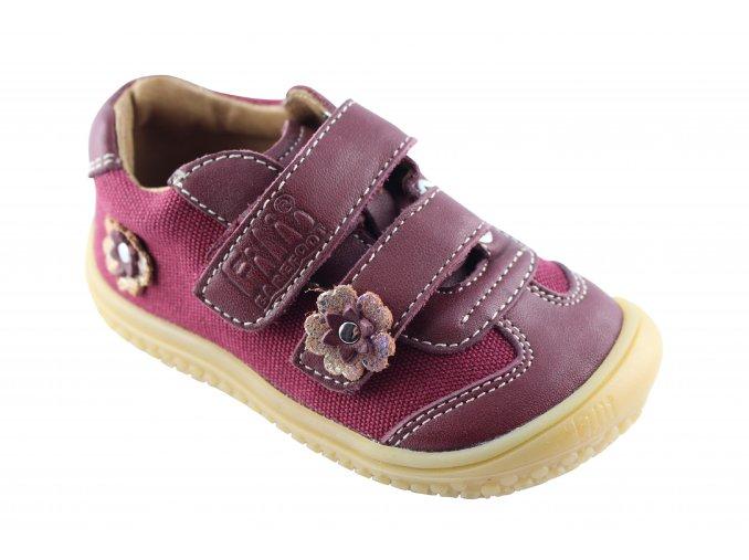 Filii barefoot 28941-1 Leguan Nappa/textil Berry W