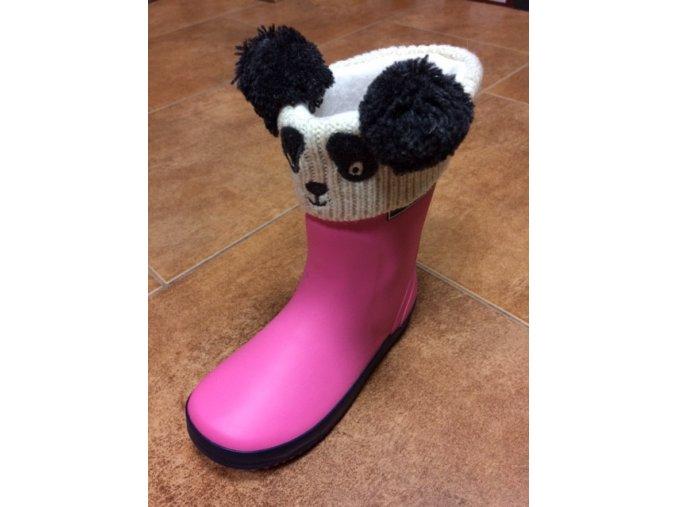 Jojo Maman Bébé - vložky do holinek panda