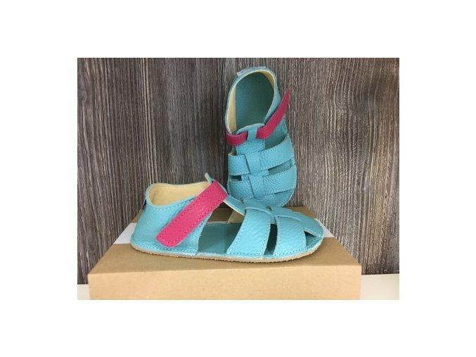 predobjednavka baby bare shoes flower paskove sandale baby bare shoes