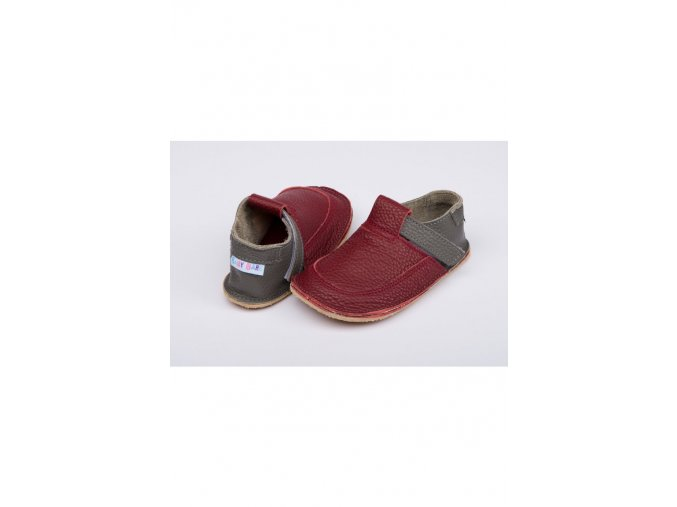 1500 baby bare shoes outdoor burgundy