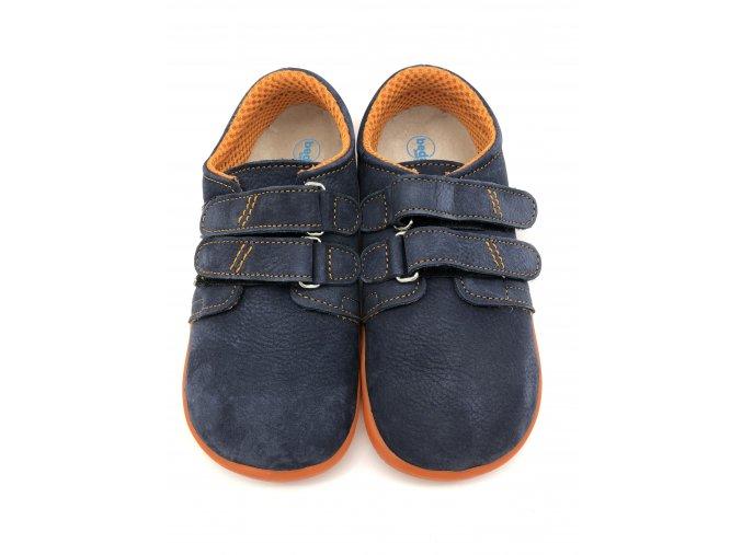 Beda Barefoot nízké Blue mandarine BF-0001/W - broušená kůže