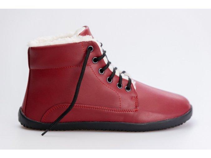 Ahinsa bare ankle červená 1