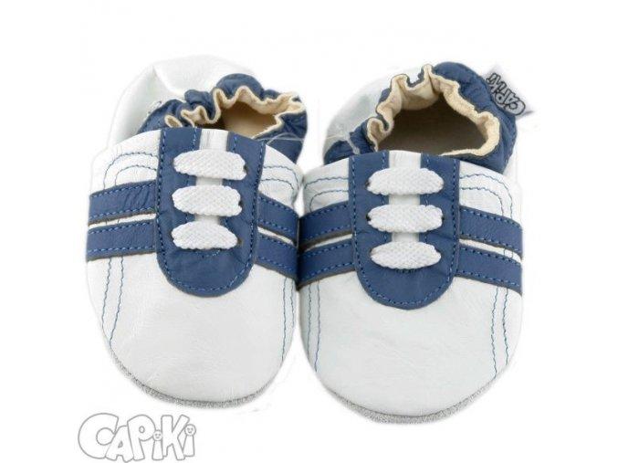 Capáčky Tenisky modro bílé 6