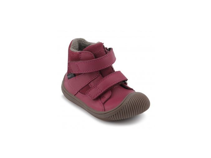 Bundgaard Walk  BG303028C Velcro Tex - rose wine - podzim 2019