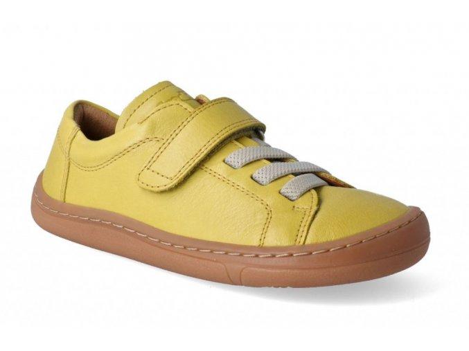 Froddo barefoot celoroční nižší G3130149 YELLOW - 1 suchý zip a gumička