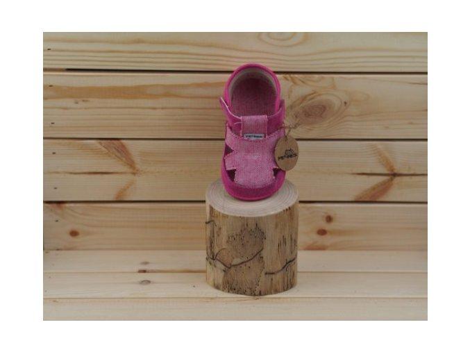 sandálky růžové