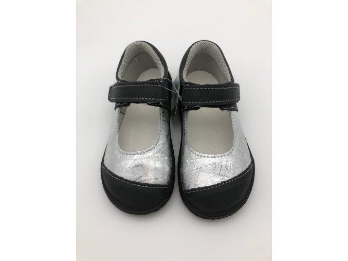Jonap Barefoot B14/M - černé balerínky