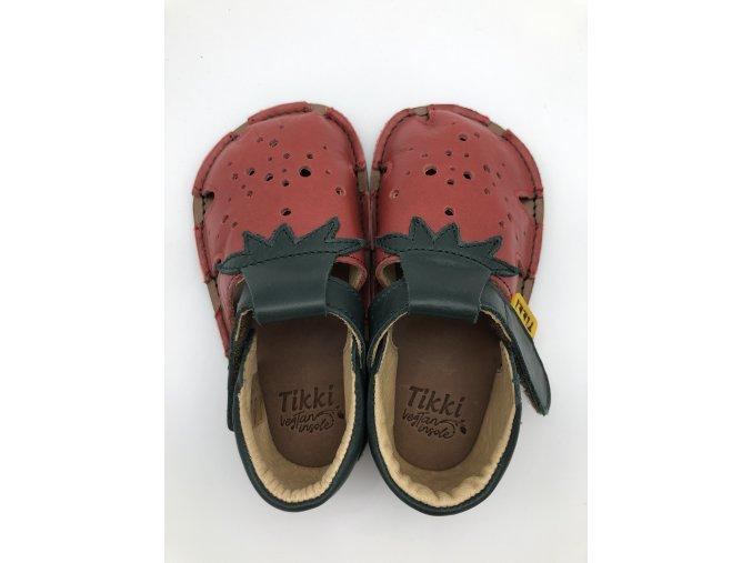 TIKKI SHOES sandálky Aranya - strawberry