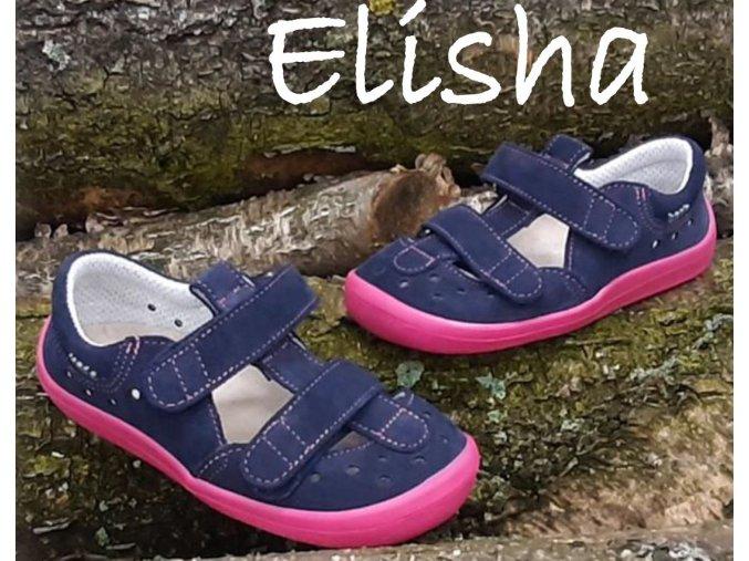 Beda Barefoot Sandály BF 0001/SD/W ELISHA