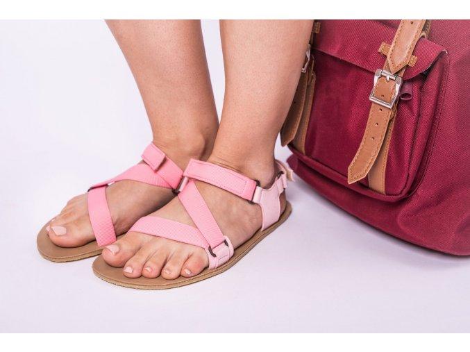 barefoot sandale be lenka flexi pink 2384 size large v 2