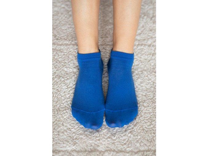 Be Lenka barefootové ponožky - modré nízké