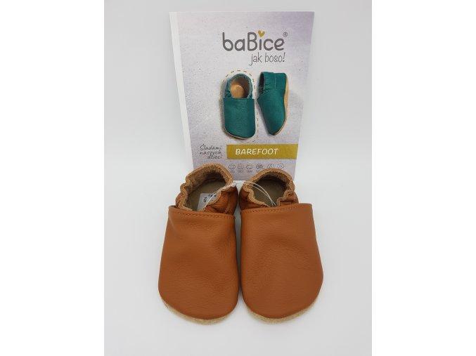 baBice barefoot capáčky BA004 - nugát