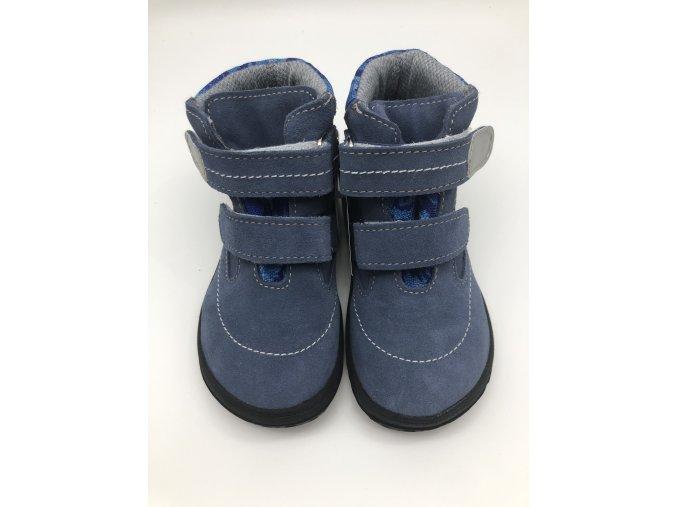 Jonap Barefoot vyšší B3S modrá kotníčková SLIM s membránou