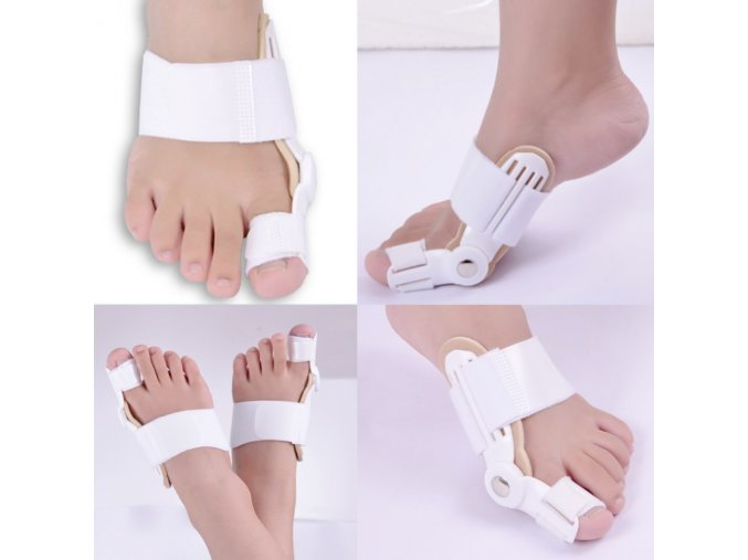 Toe Straightener Big Toe Straightener Bunion Hallux Valgus Corrector Splint Foot Pain Relief Protection Correction for 1