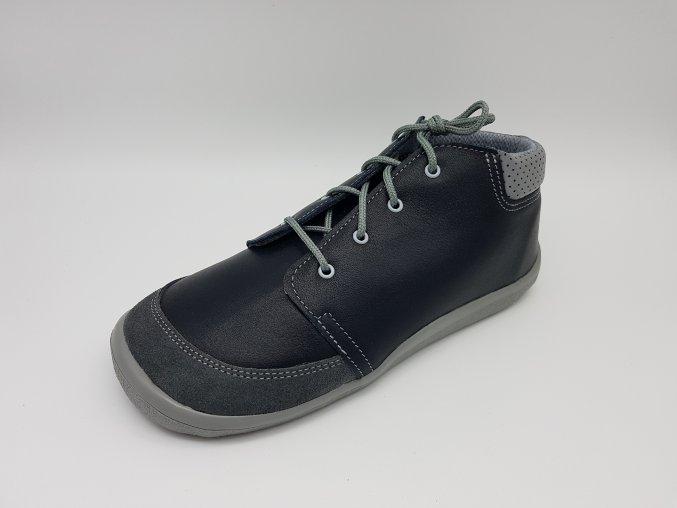 Beda Barefoot membránové LUC BF-0001/M/SO hladká černá kůže, TKANIČKY