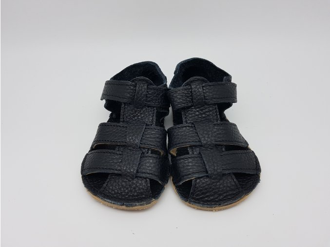 Baby Bare Shoes Sandals All Black