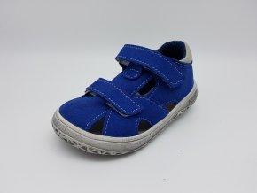 Jonap Barefoot B8 MF - modré sandálky SLIM