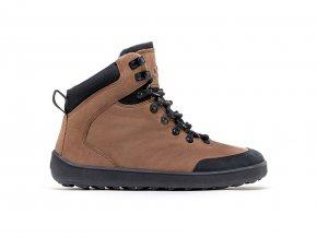 barefoot zimne topanky be lenka ranger dark brown 24106 size large v 1