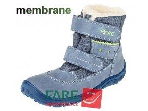 FARE BARE DĚTSKÉ ZIMNÍ NEPROMOKAVÉ B5541102 modré s membránou