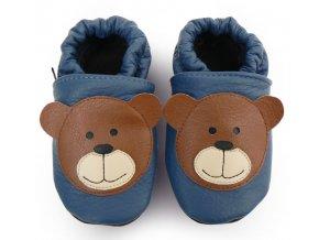 Capáčky Medvídek modrý AFELO 1
