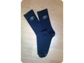 Surtex ponožky tmavé společenské 95% merino