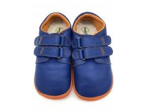 Beda Barefoot nízké Blue Mandarine BF-0001/W - hladká kůže
