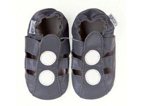 capáčky sandálky šedé