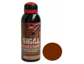 SIGAL - VELUR-NUBUK sprej, bezbarvý, 150 ml