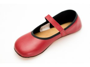 barefoot vegan balerinka cervena (1)