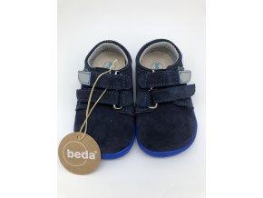 Beda Barefoot nízké Daniel BF-0001/W - kožená