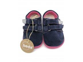 Beda Barefoot nízké Elisha BF-0001/W - kožená