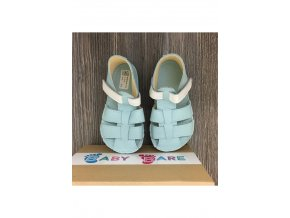 1605 baby bare shoes acqua sandals new