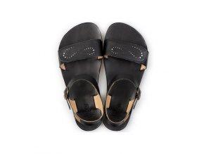 vibe barefoot women s sandals infinity black in stock 5534 4