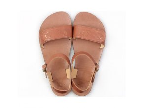 vibe barefoot women s sandals infinity brown in stock 5594 4