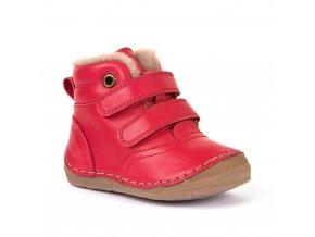 Froddo flexible zimní G2110078-8 kožešina, červená