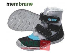 FARE BARE DĚTSKÉ ZIMNÍ NEPROMOKAVÉ BOTY A5141201,A5241201 - modré