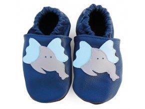 capáčky modrý slon 2