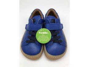 Froddo barefoot celoroční nižší G3130149-2 ELECTRIC BLUE - 1 suchý zip a gumička