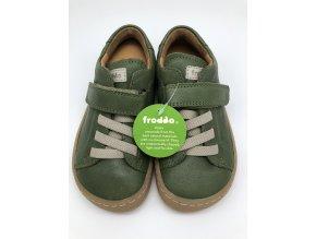 Froddo barefoot celoroční nižší G3130149-4 DARK GREEN - 1 suchý zip a gumička