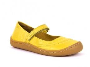 balerinka žlutá