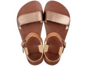 funky vibe barefoot women s sandals bronze 15984 2