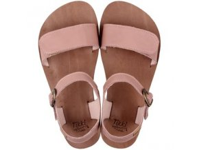 funky vibe barefoot women s sandals dusty pink 16004 2