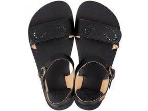 vibe barefoot women s sandals infinity black 16064 2