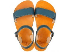 vibe barefoot women s sandals petrol blue 16144 2