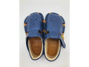 TIKKI SHOES sandálky Aranya - blue (okrová stélka)