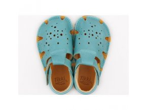 barefoot sandals aranya turquoise 19 23 eu 9634 2