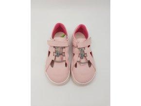 Jonap Barefoot B9 MF - sv.růžové sandálky SLIM