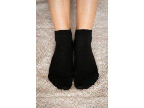 Be lenka barefootové ponožky - černé nízké